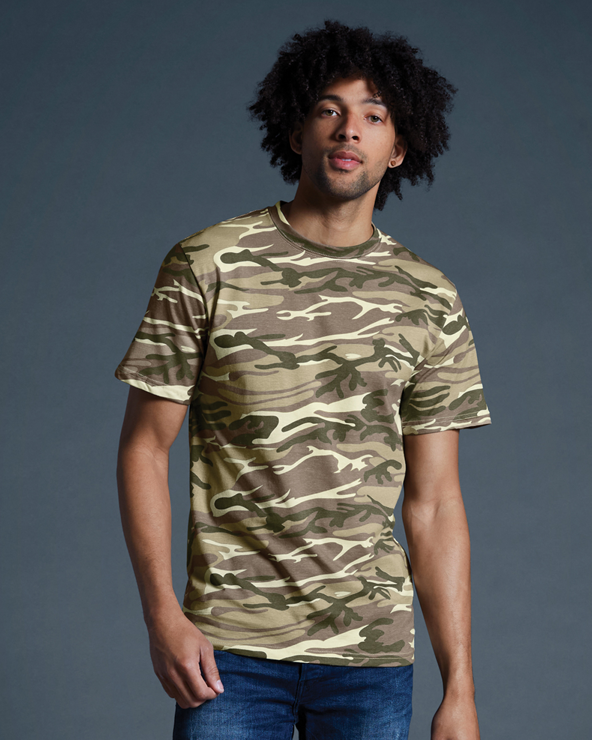 Midweight Camouflage Tee