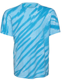 Youth Tie Dye Tiger Stripes T-Shirt
