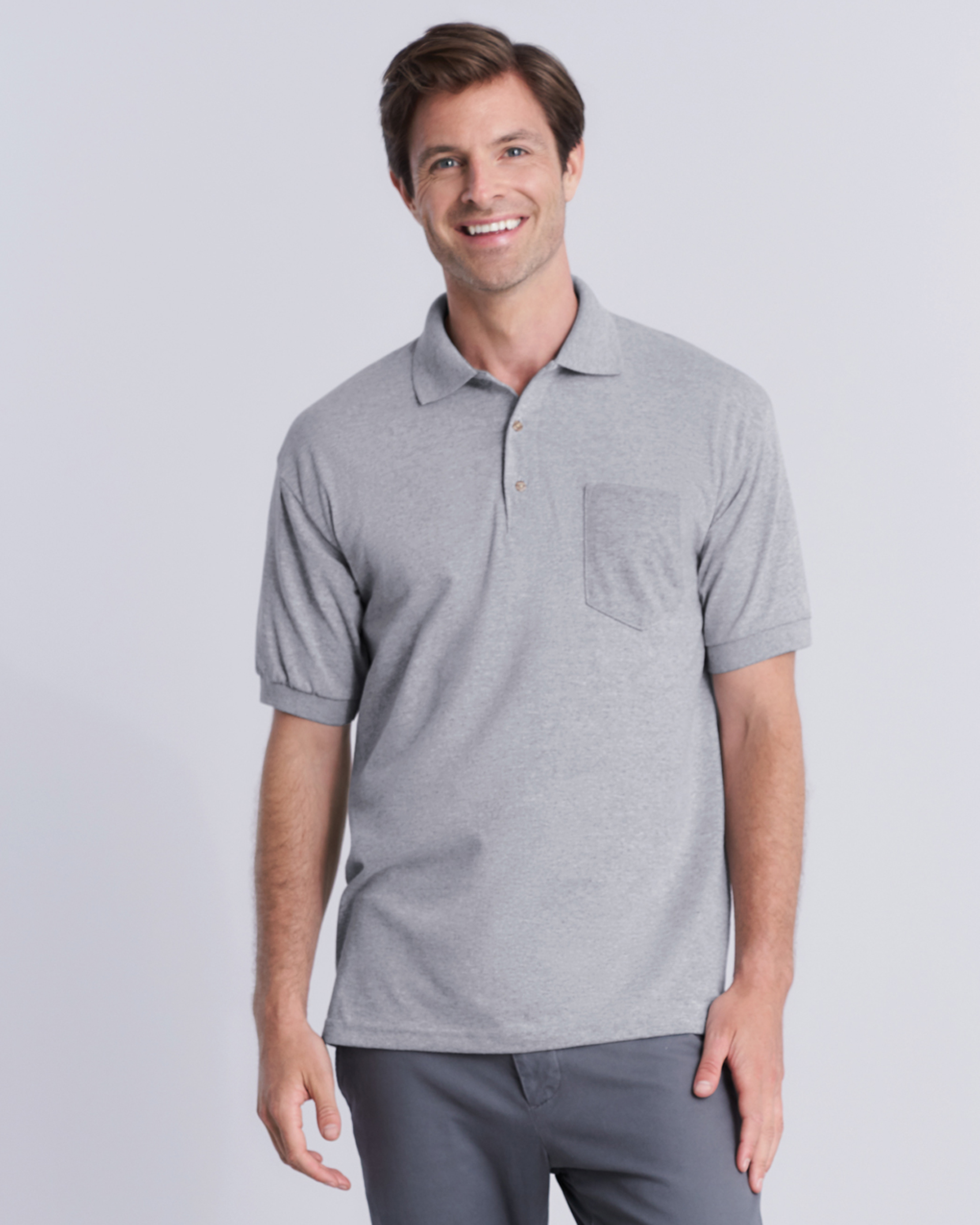 DryBlend® Adult Jersey Sport Shirt with Pocket
